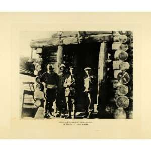 Ellsworth Wisting Omdal Crew   Original Photogravure