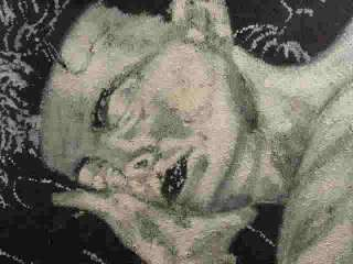 in Black & White, Maurice Wilson, Chicago, on Canvas, 20 x 22