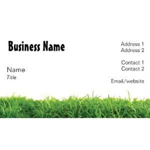 Lawn Care Business Card: Office Products