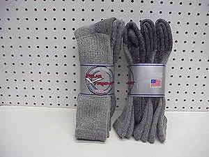 6pr Mens Polar Xtreme Merino Wool Thermal Boot Socks 10 13