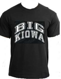BIG KIOWA Native American pow wow clothing t shirt