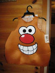 Toddler Mr. Potato Head Toy Costume Outfit 3T 4T Play