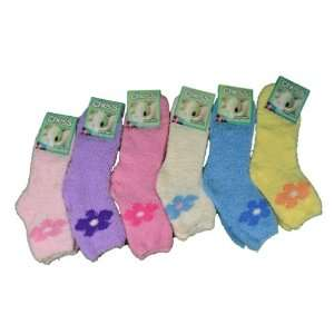 Pairs Womens Chess Sleep Fuzzy Warm Socks Asst Colors