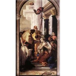 9x16 Streched Canvas Art by Tiepolo, Giovanni Battista