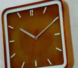 10 inch antique style wood wall clock Brand new
