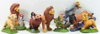 Deluxe Lion King Simba Nala Figure Play Set Christmas Gift