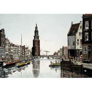 Amsterdam landscape Etching Power, J R , Topographical