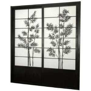 Oriental Furniture Bamboo Tree Shoji Sliding Door Kit