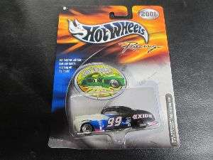 Wheels Racing NASCAR 2001 Tail Dragger Exide 074299289675