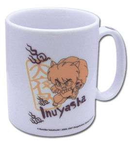 InuYasha Anime Series Fighting Figure Coffee Mug SEALED