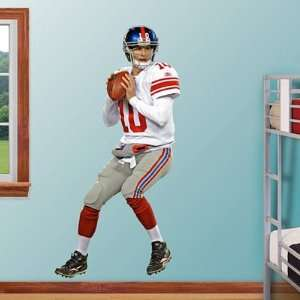 Quarterback New York Giants NFL Fathead REAL.BIG Wall Graphics Sports