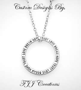 FAMILY~FRIENDSHIP~BRIDAL~THANK YOU~NECKLACE POEM GIFT