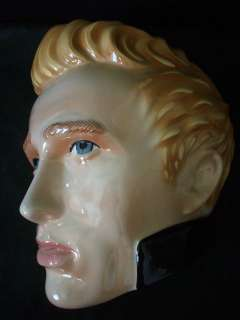 CLAY ART 1997 JAMES DEAN FACE MASK OR PLAQUE #C395