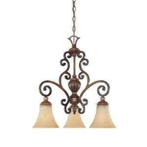 Montreaux Collection French Country Burnished Walnut with Gold Accents