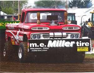 Holman Bros NTPA Miller Tire Truck Pulling FWD T Shirt