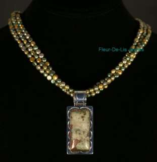 Jay King MINE FINDS USA Cooperite Copper Necklace Pdt