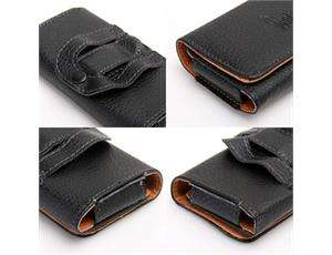 BELT CLIP PU LEATHER CASE POUCH COVER HOLSTER FOR Apple iPhone 4 4S 4G