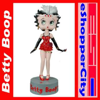 Betty Boop IC Talking BobbleHead Polyresin Figure Doll