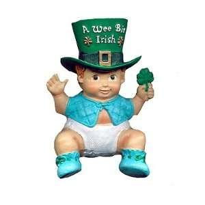 Kurt Adler A Wee Bit Irish Baby Boy Christmas Ornament