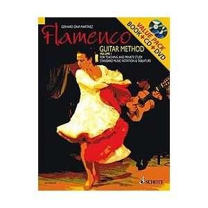 Schott Flamenco Guitar Method Volume 1 Book with CD and