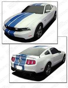 Ford Mustang Precut Double Stripe Decal Kit 2010 2011