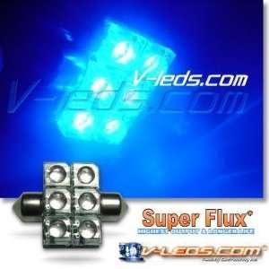 HIGH FLUX LED BLUE DOME LIGHT BULB 3022 3021 DE3175