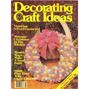 Decorating & Craft Ideas November 1981 (Gumdrop Wreath