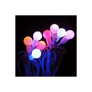 Set of 25 Color Changing Multi Color LED Berry Twinkle