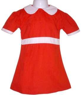 Little Orphan Annie Red Dress Costume Child S NIP