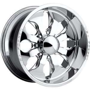 USA Forged 505 20x10 Chrome Wheel / Rim 8x170 with a  5mm Offset and a