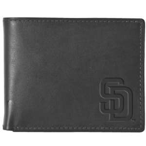 Pangea MLB San Diego Padres Black Leather Wallet Sports