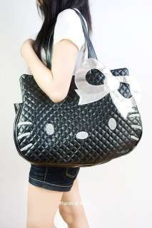 Hello Kitty PU Leather Hand bag shoulder tote pruse X