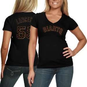 San Francisco Giant Tee Shirt  Majestic Threads Tim Lincecum