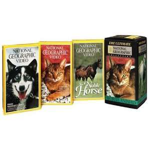 Geographic Collection   Favorite Animals [VHS] National Geographic