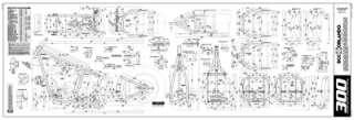 Custom Chopper Softail Frame Blueprints   300 Series Tire
