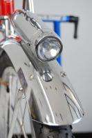 Belgium Fat Tire Amber Cruiser Bike Red 19 Bicycle Old School