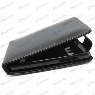 New Leather Flip Pouch Case Cover for SPRINT HTC EVO 4G