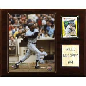 San Francisco Giants Willie McCovey 12x15 Player Plaque