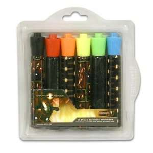 Iron Man Markers, 6 Count Bold Tip Scent Case Pack 48
