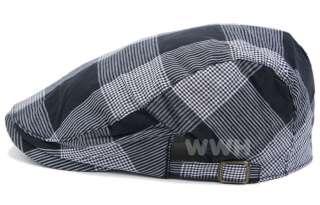 Fashion Lady Cap ivy Hat Woman Gatsby Belt Side Black ib6899d