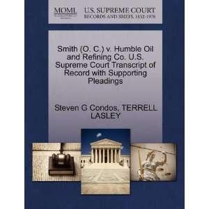 Smih (O. C.) v. Humble Oil and Refining Co. U.S. Supreme