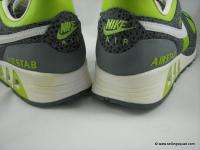 NIKE AIR STAB MENS SHOES GREEN GRAY WHITE 316402 311 LEATHER TRAINERS