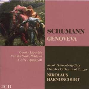 Schumann Genoveva Schumann, Chamber Orch of ope