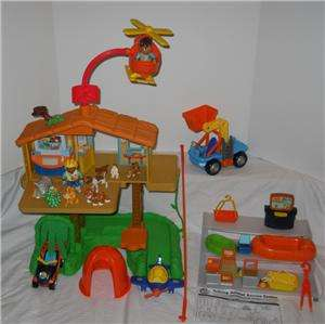 PRICE Diegos TALKING RESCUE CENTER lot extras Dora TREE HOUSE NICK JR