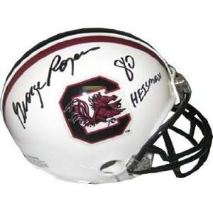 George Rogers signed South Carolina Gamecocks Replica Mini
