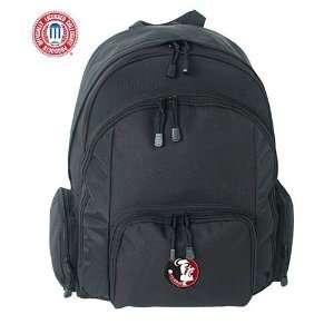 Mercury Luggage Florida State Seminoles Large Black Ripstop Backpack