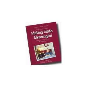 Math Meaningful Level 6 Student Book David Quine  Books