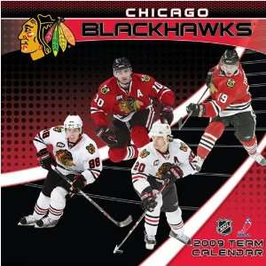 Chicago Blackhawks NHL 12 x 12 Team Wall Calendar Sports