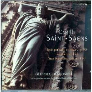 Saint Saens Pieces pour Orgue (Selections for Organ) Camille Saint