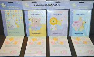 BABY SHOWER   KEEPSAKE BOOK & PARTY GAME BOOK SET